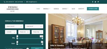 Binergy siti internet siti web hosting grafica design firenze siena - Immobiliare fiesoli firenze ...